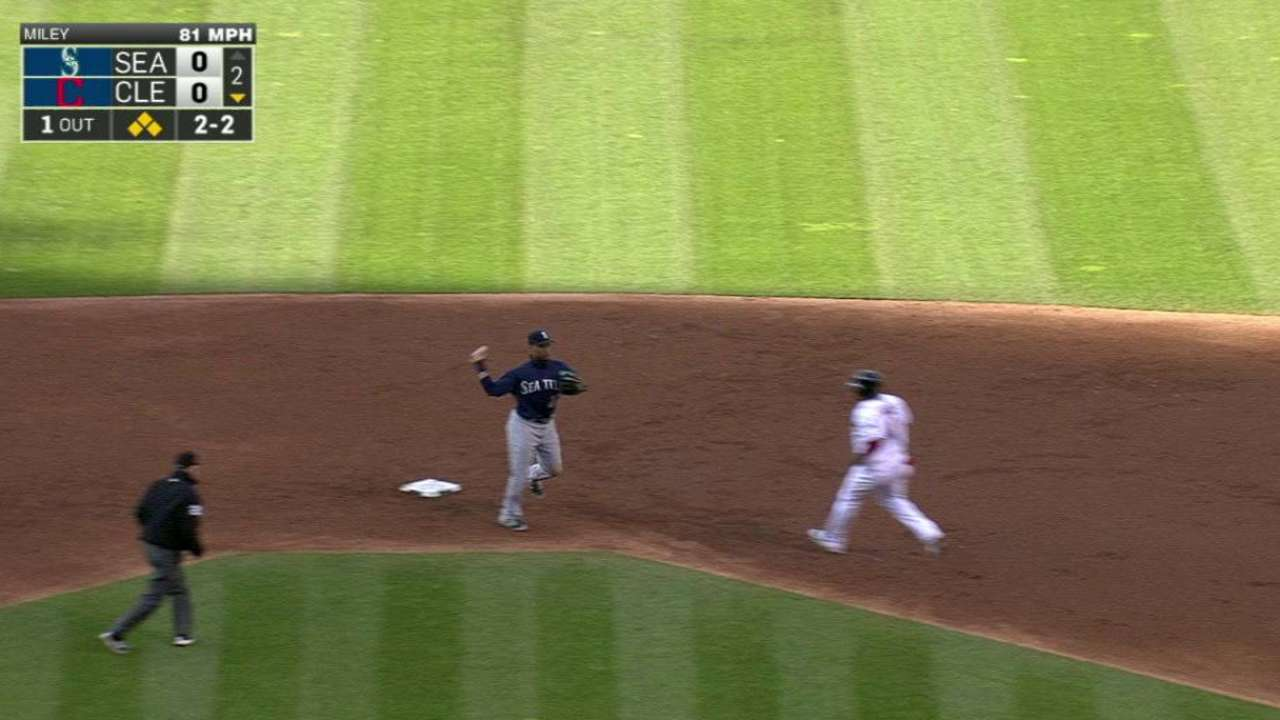 Mariners' big double play