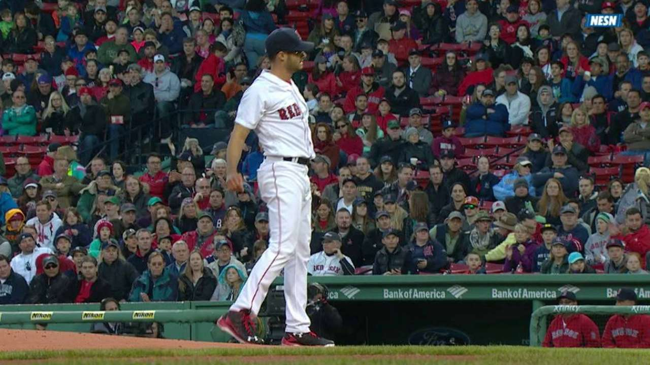 Rainout messes with Red Sox rotation plans