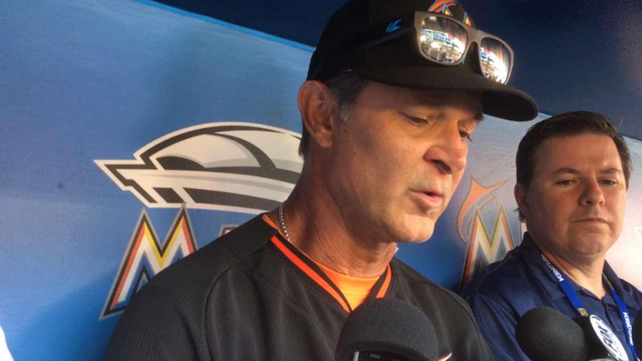 Miami calls up Wittgren as Jackson hits DL