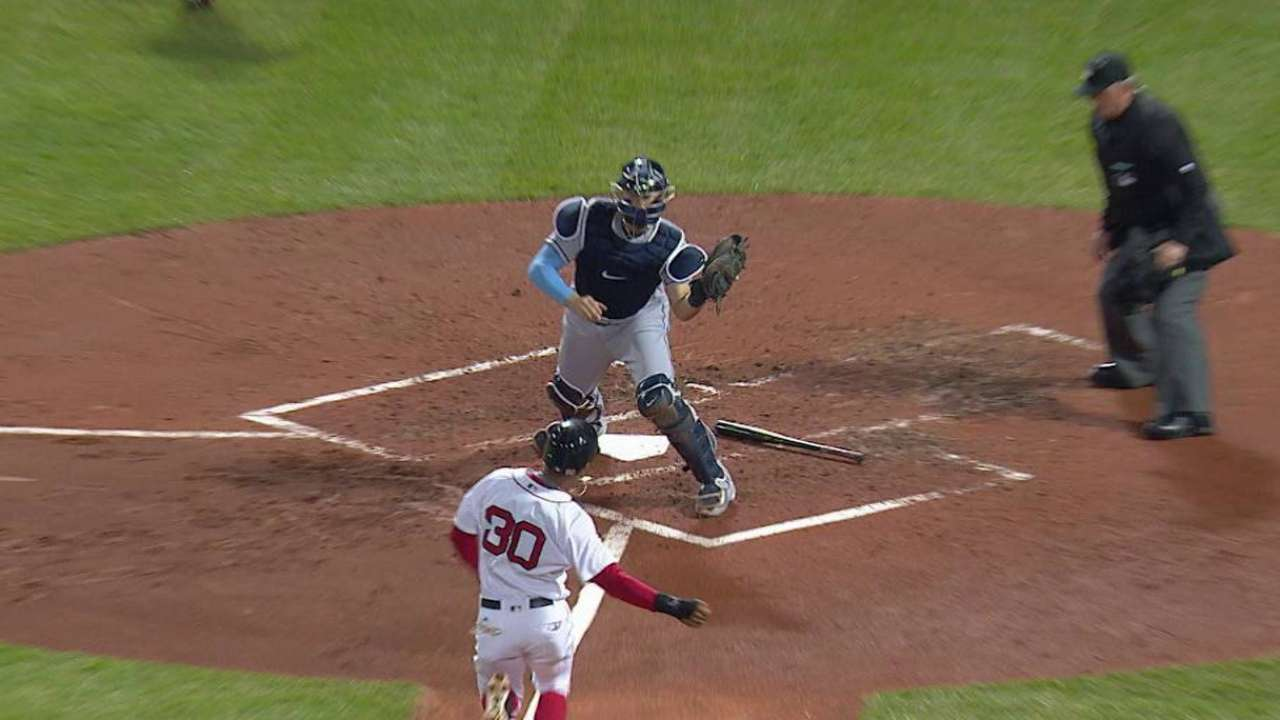 Longoria forces out Young