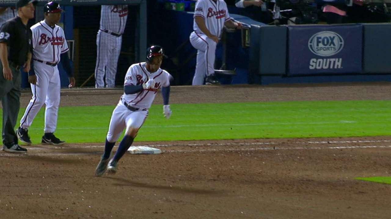 Smith's two-run double
