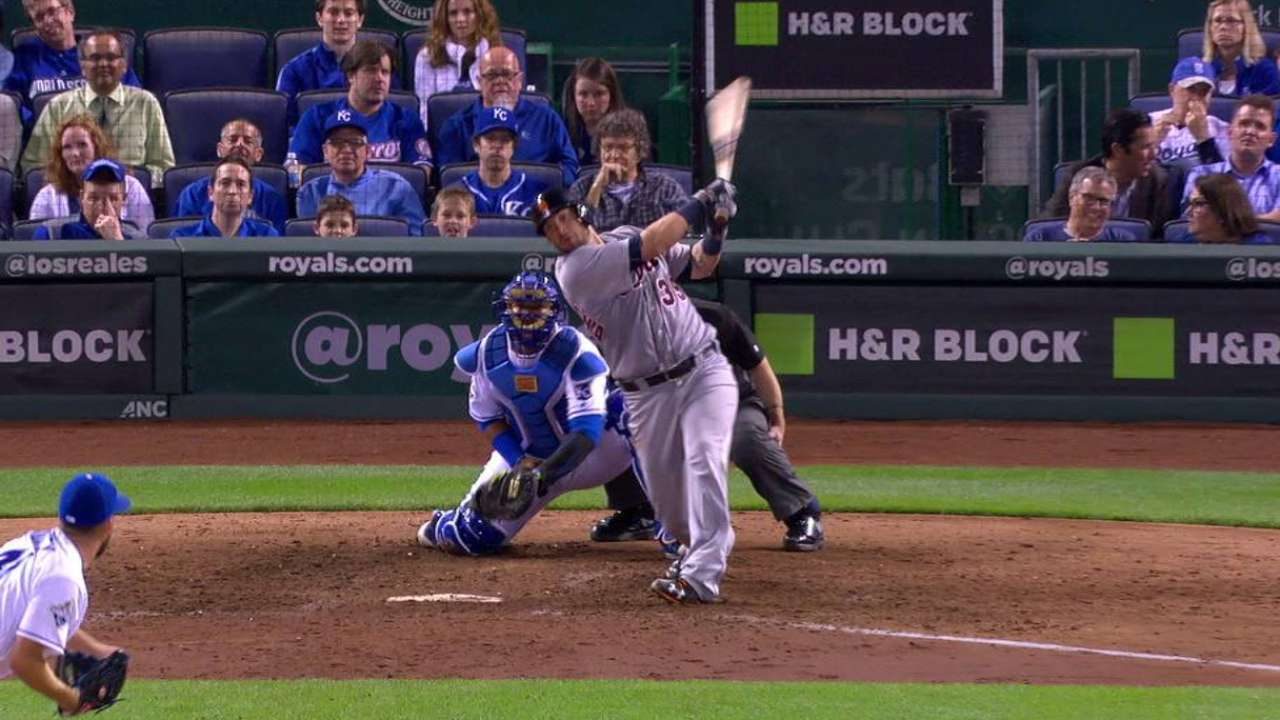 Salty's three-run homer