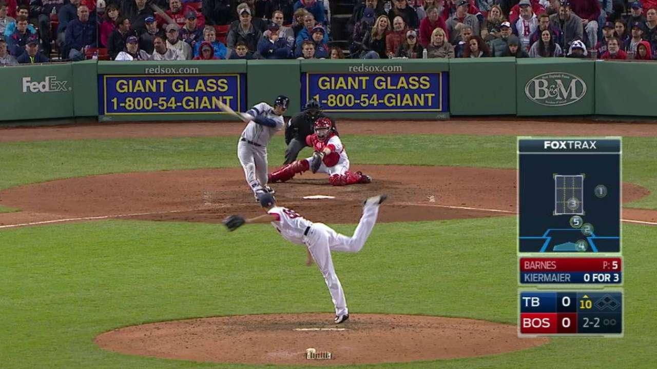 Kiermaier's 10th-inning homer