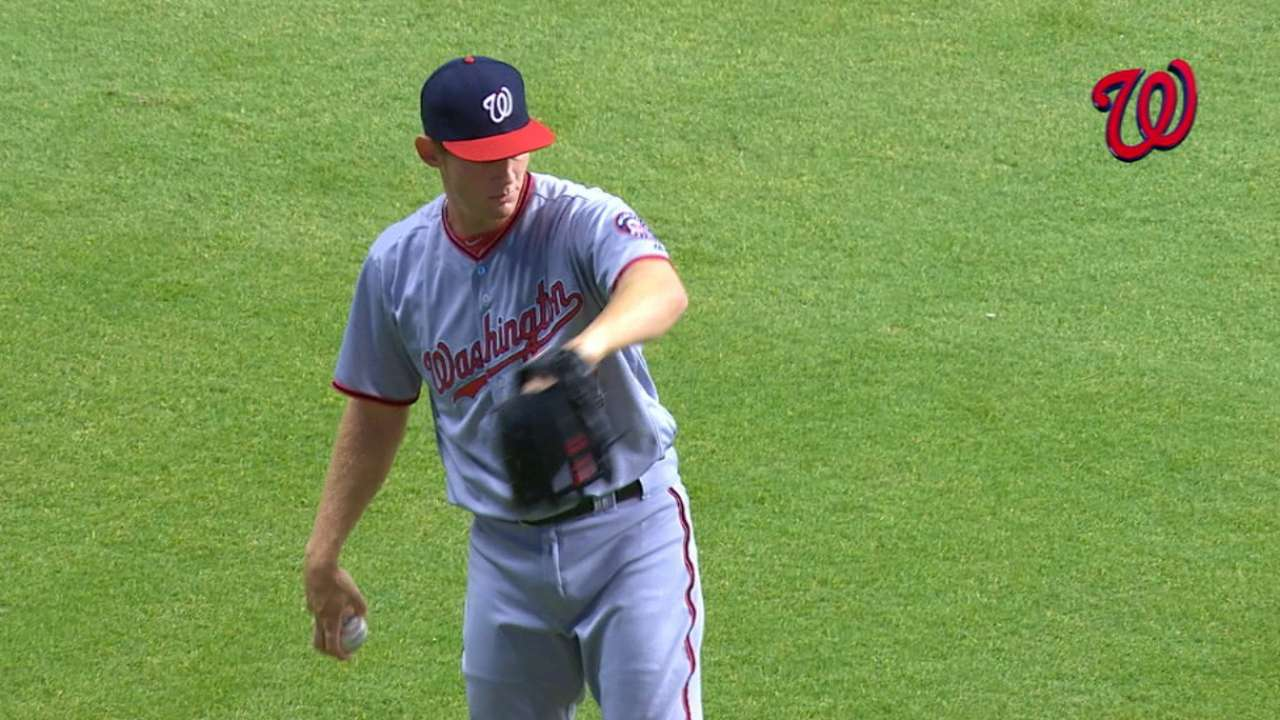 Strasburg building off each outing during fast start