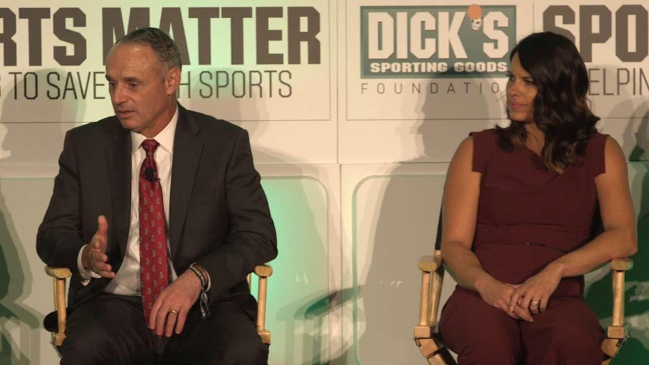 Manfred: Kids playing sports is vital