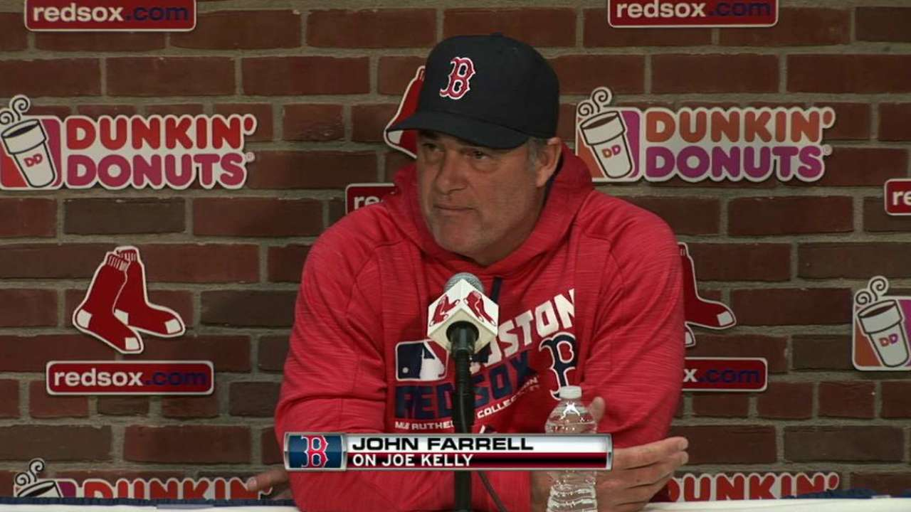 Farrell fine with Kelly's communication