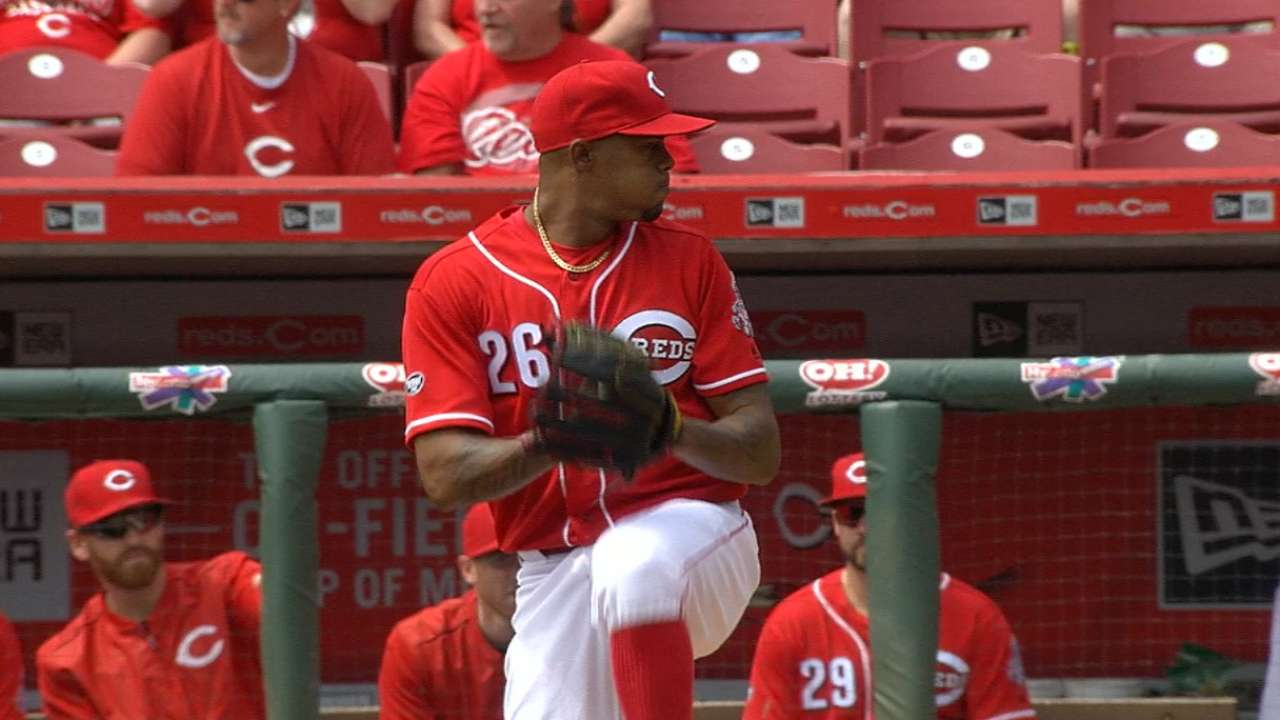 Iglesias to DL; Adleman set for Reds debut