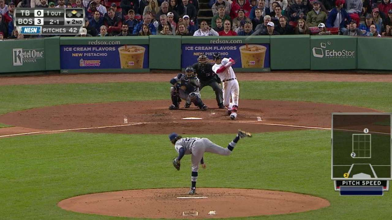 Mookie reignites with big night at plate