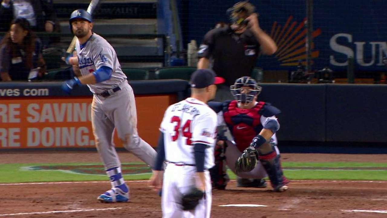 Gonzalez's towering homer
