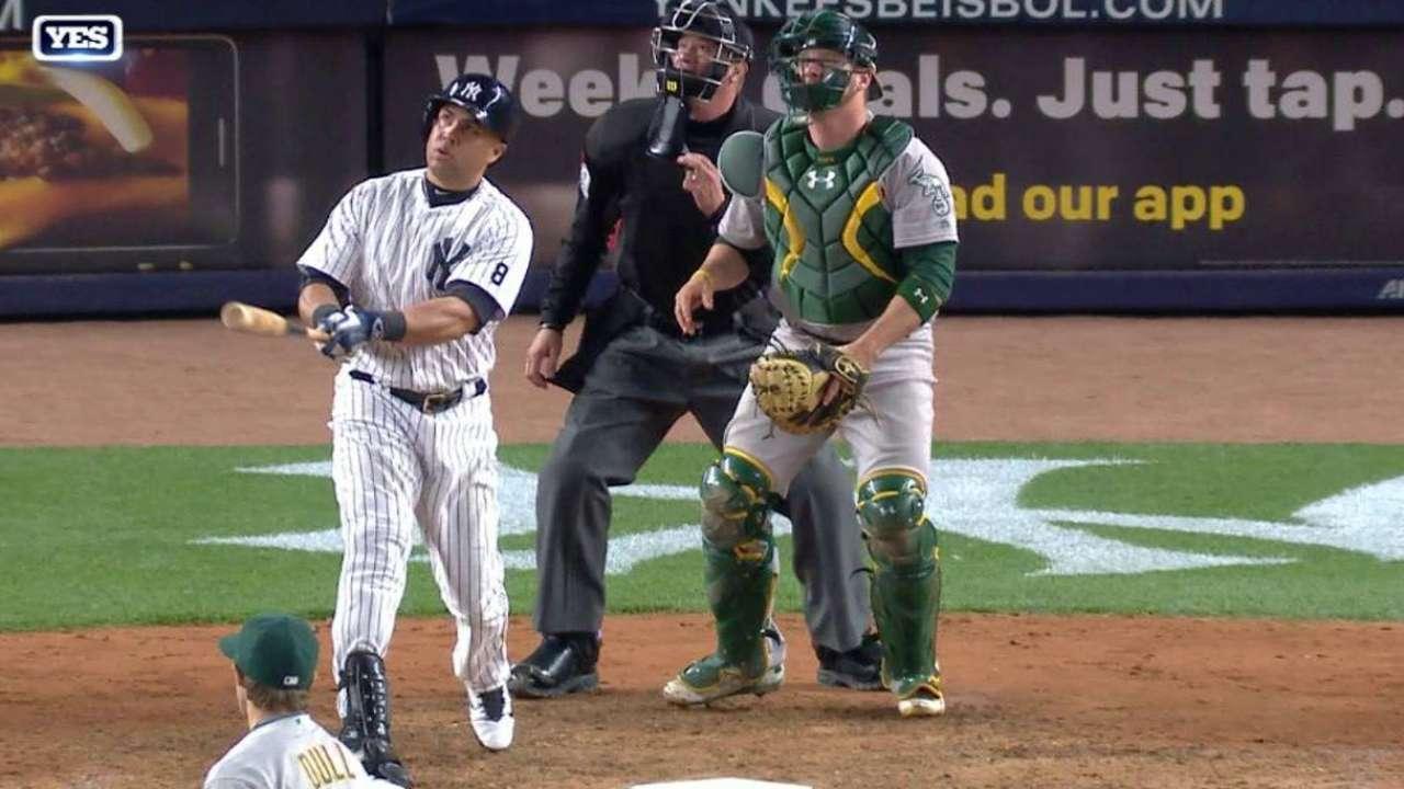 Beltran crushes a solo home run