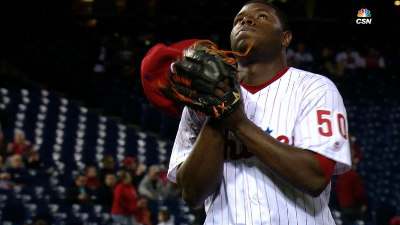 Neris' unhittable splitter boosting Phillies bullpen