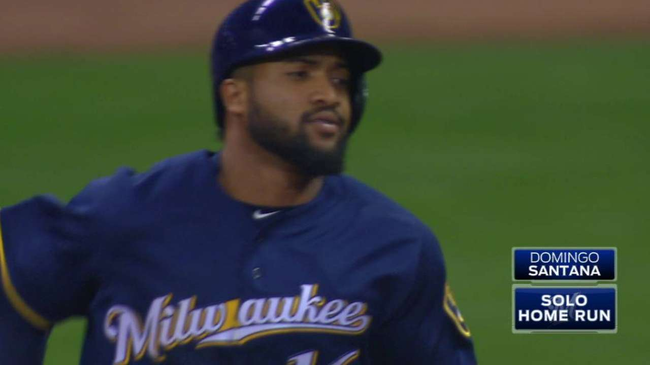 Santana's new plate approach reaping enormous dividends