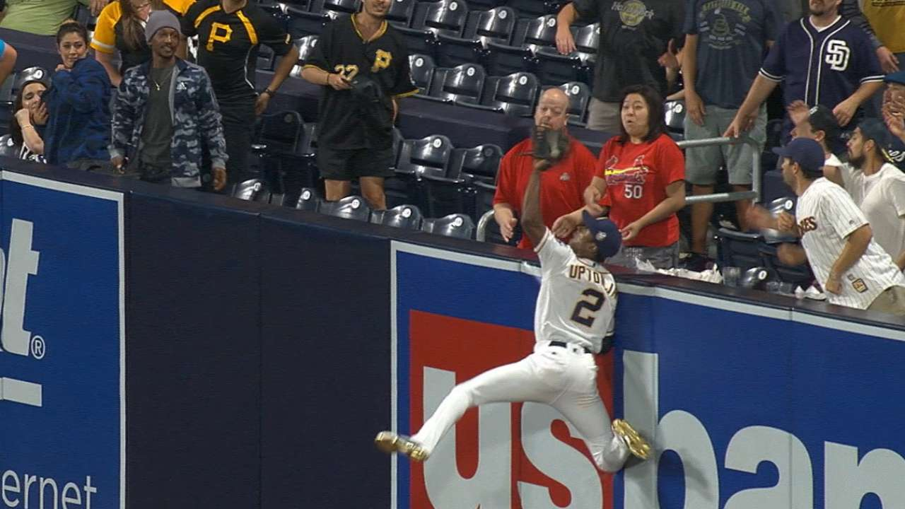 Must C: Upton Jr. robs home run