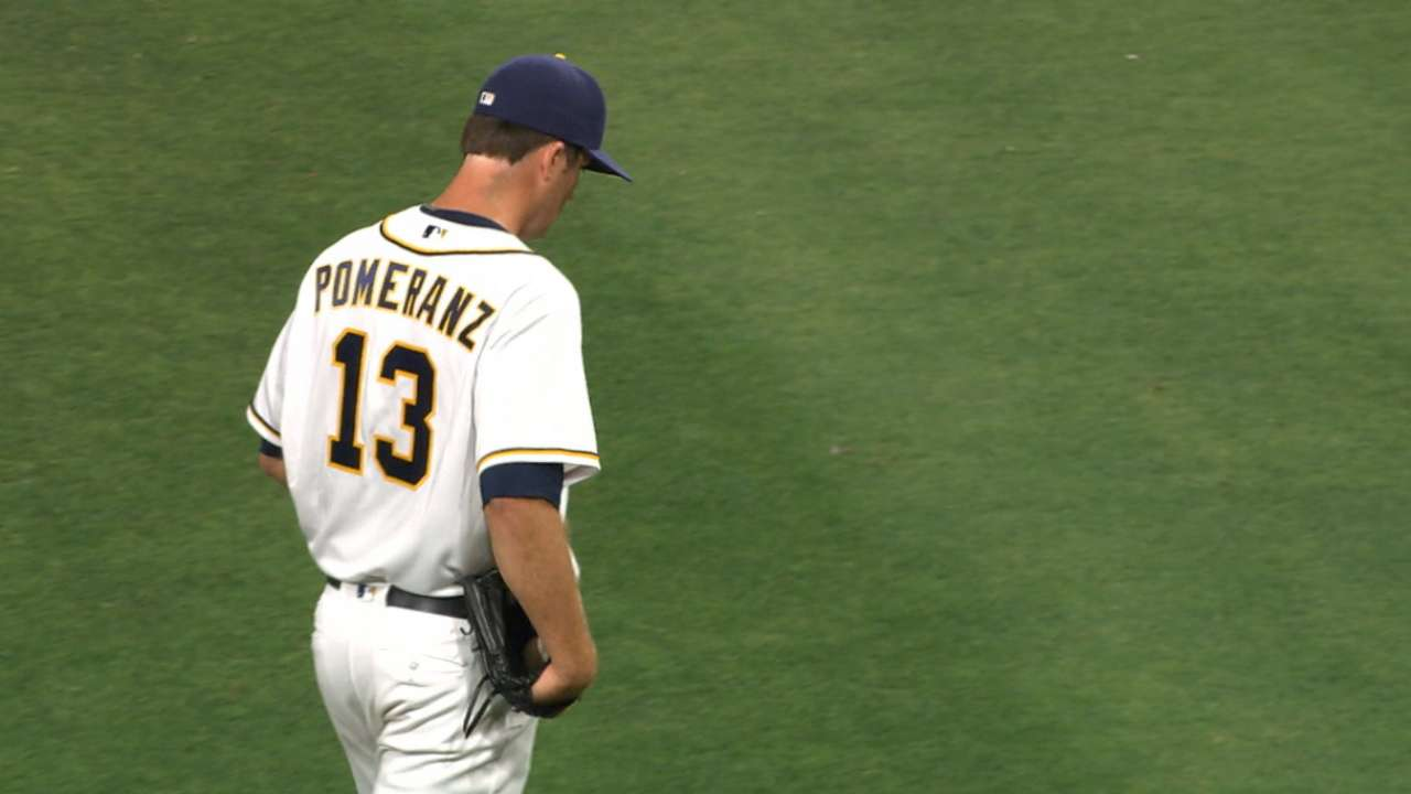 Pomeranz's hook has elevated his game