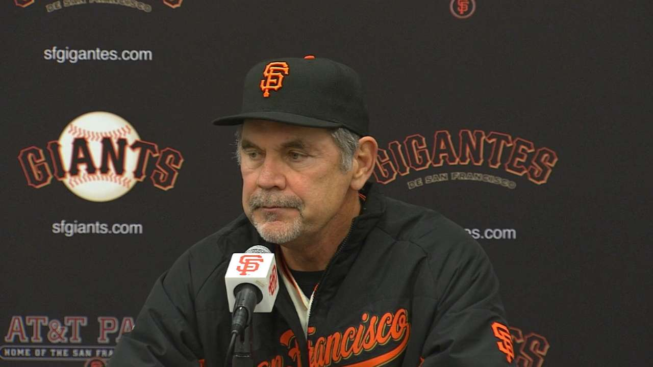 Giants miss out on chances vs. Greinke
