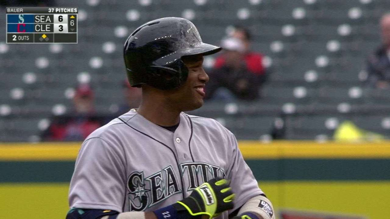 Cano's RBI double