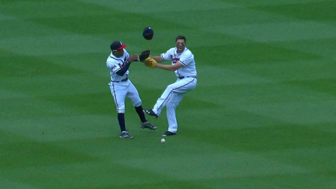 Francoeur and Mallex collide