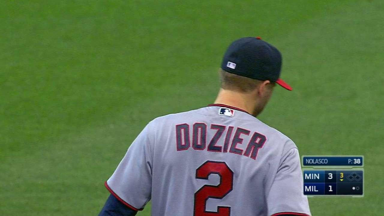 Dozier's diving stop