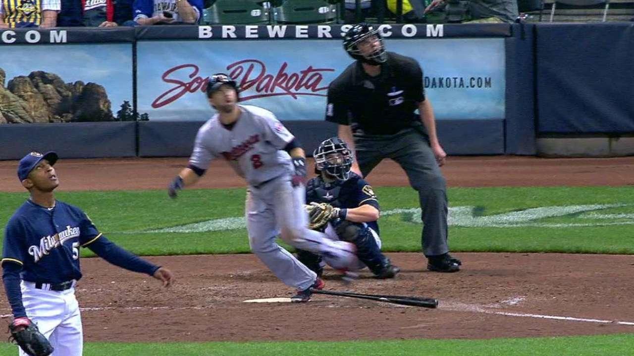 Dozier's solo home run