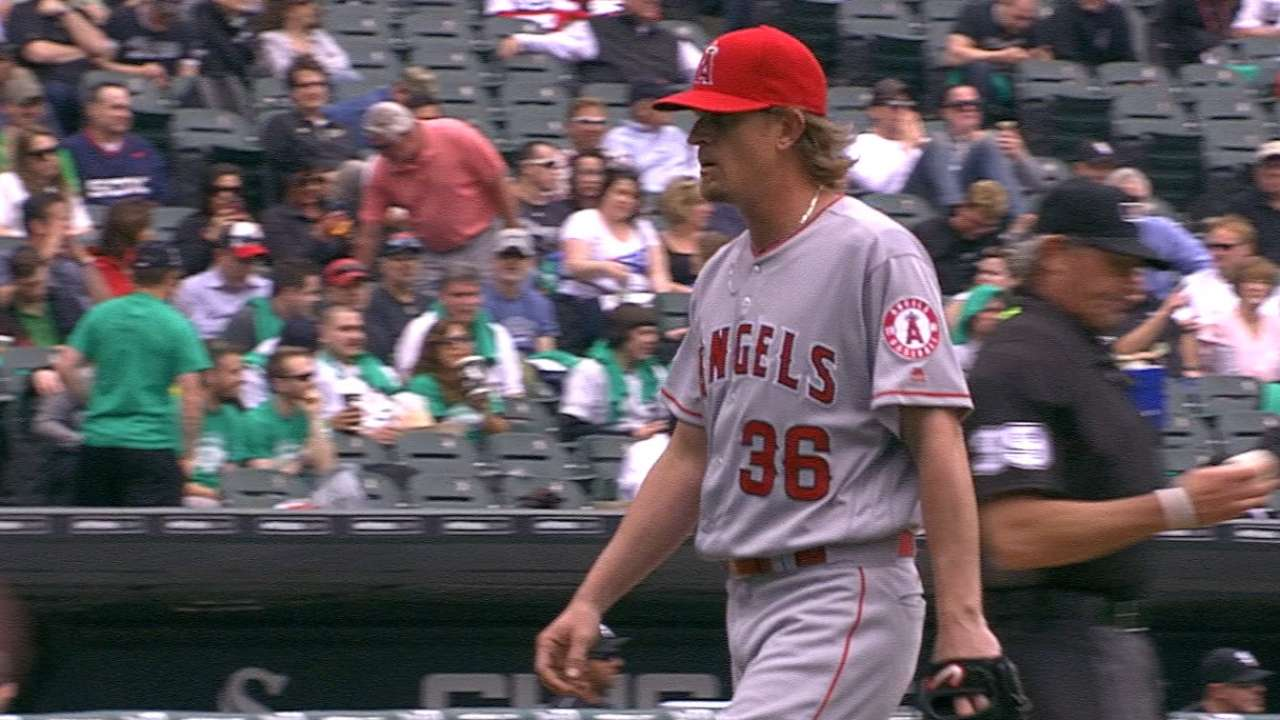 Weaver getting good results, gaining velocity