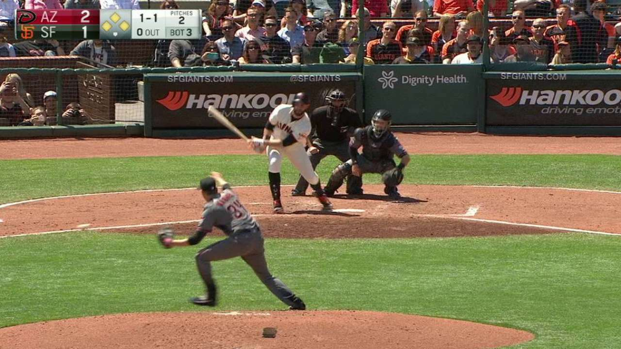 Span scores on double play