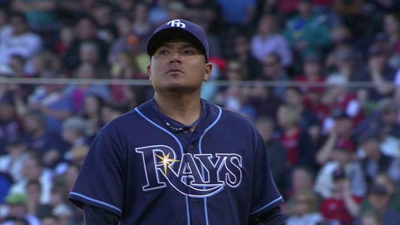 Versatile Ramirez key to Rays' pitching staff