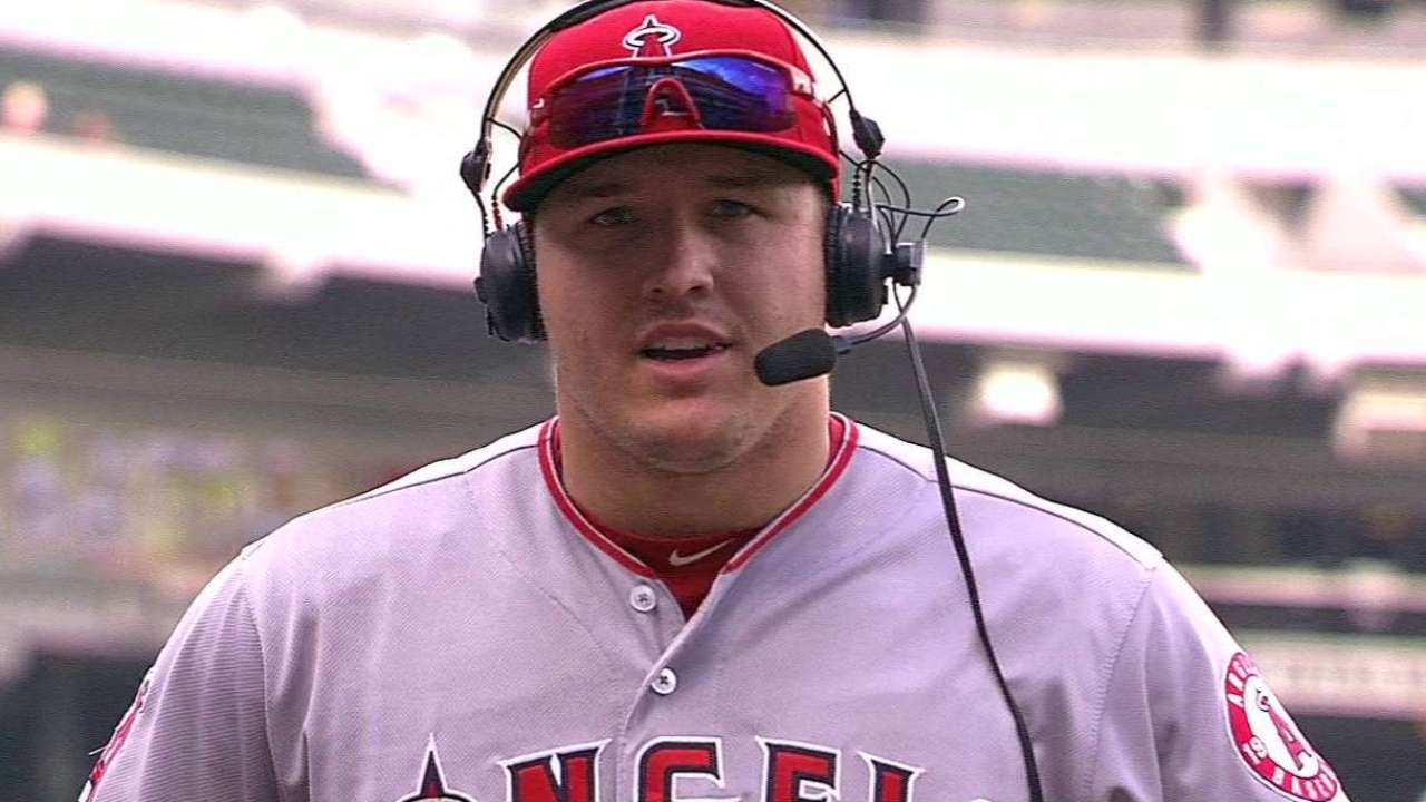 Trout on Angels' 3-2 win