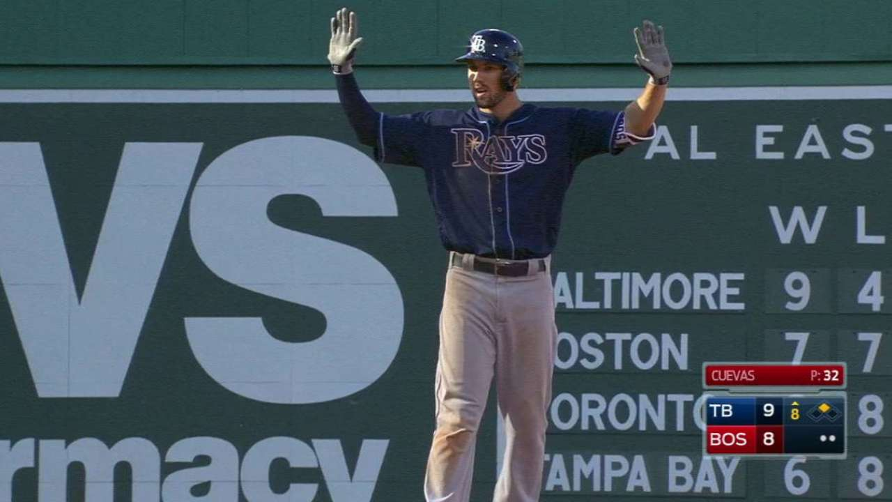 In back-and-forth affair, Rays beat Red Sox