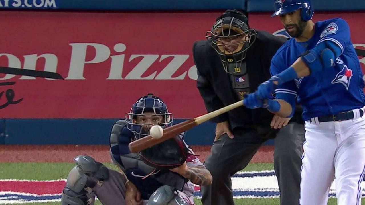 Bautista's second homer