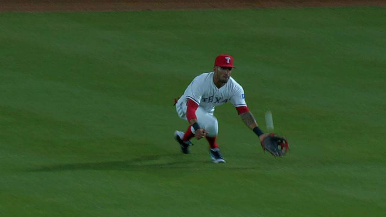 Desmond's diving catch
