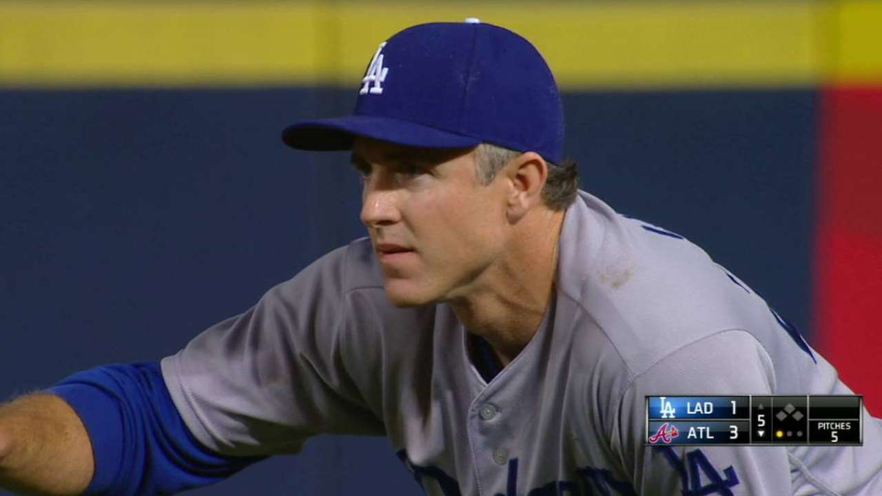 Utley lets play do talking in field, on bases in win