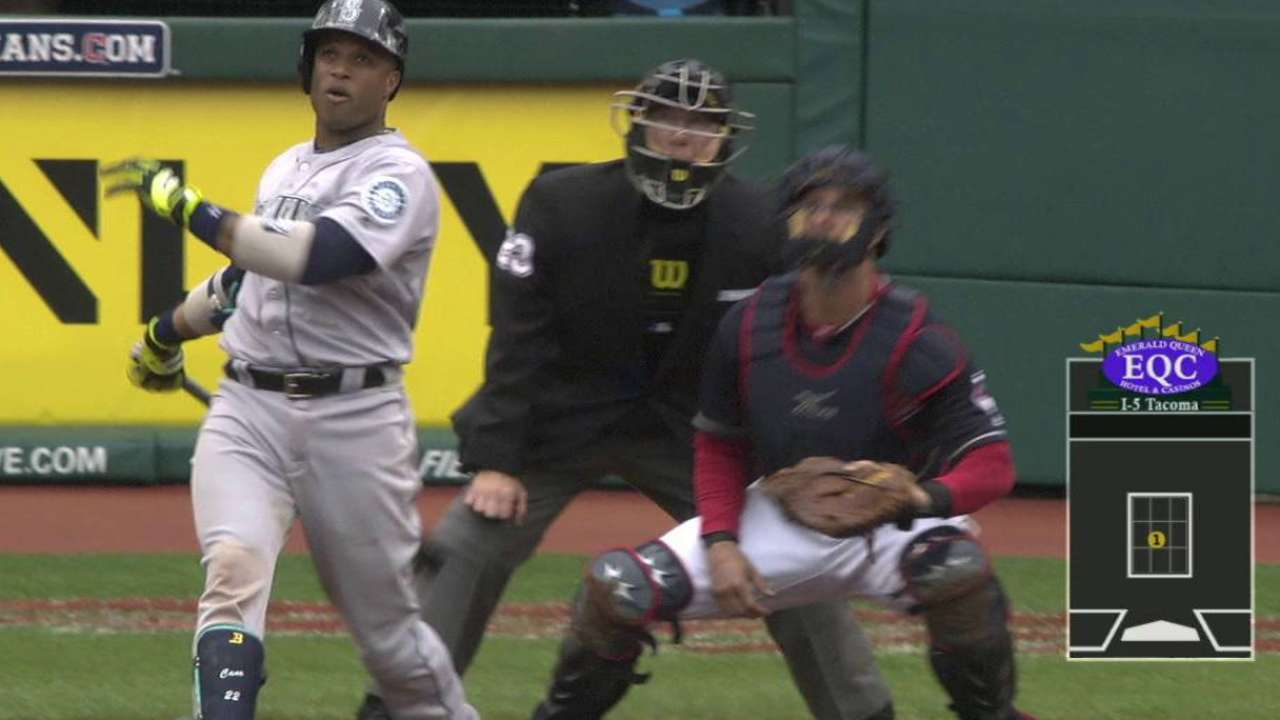 Cano's clout sends Mariners past Tribe in 10