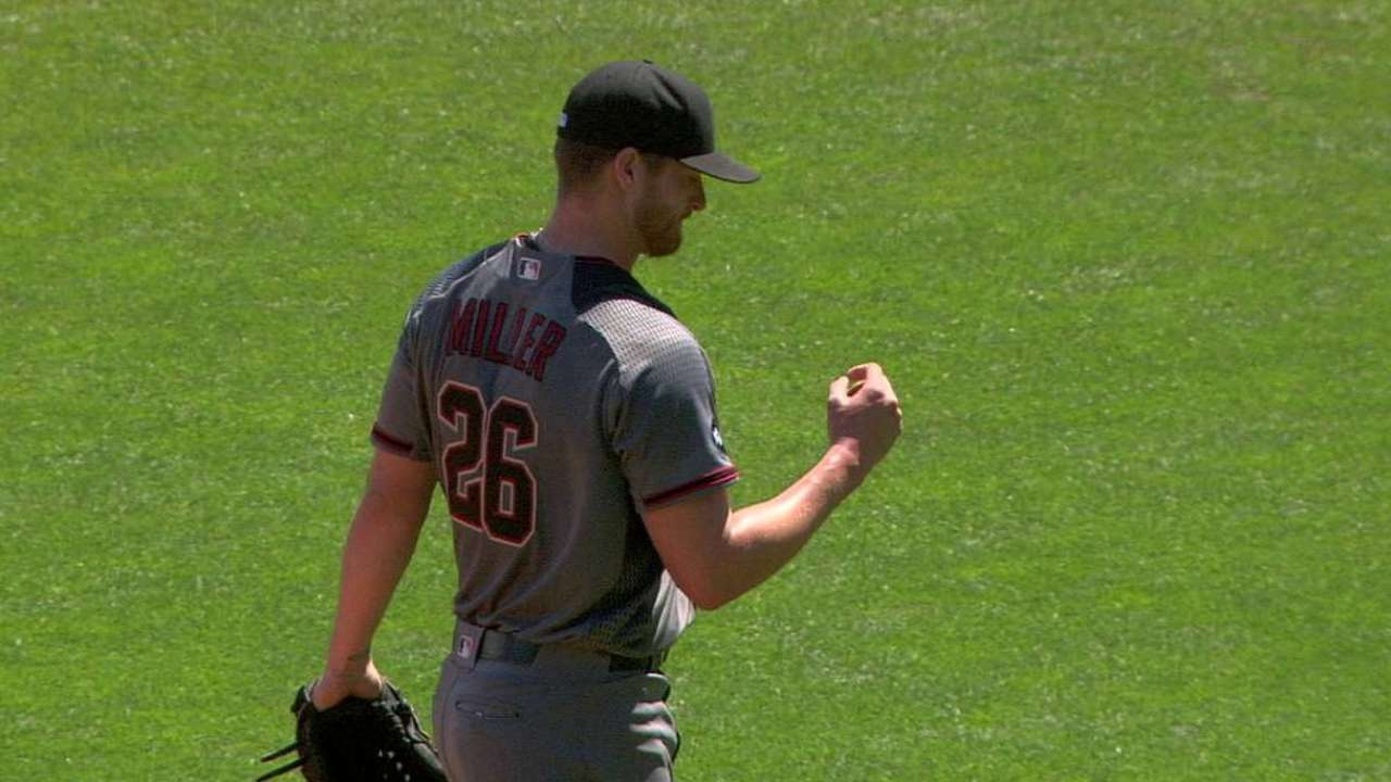 Miller struggles with command