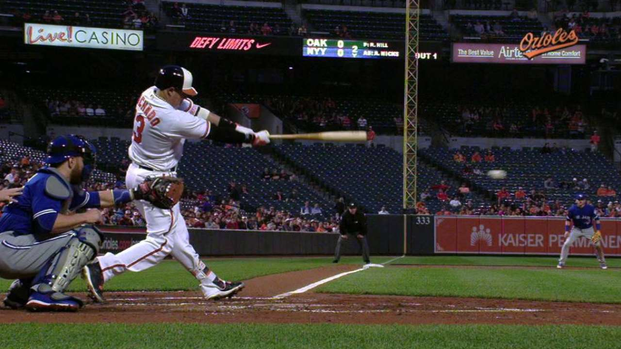 Machado's RBI single