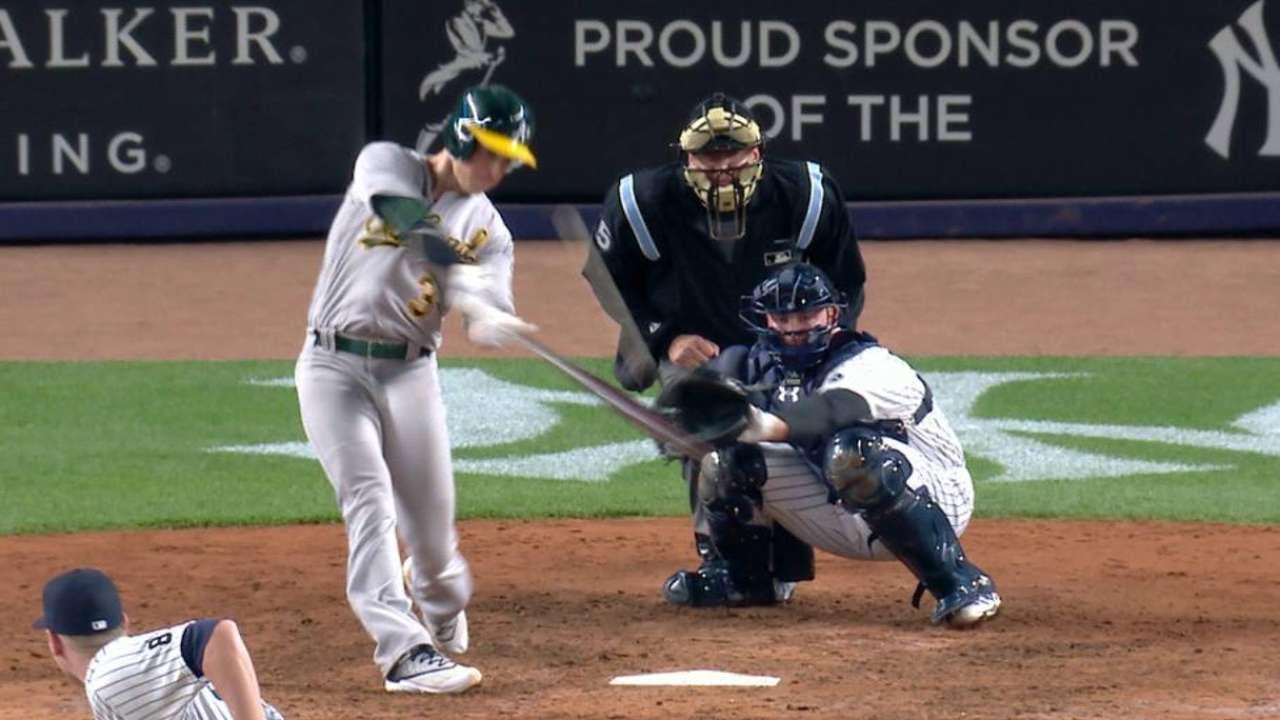 Coghlan's two-run homer