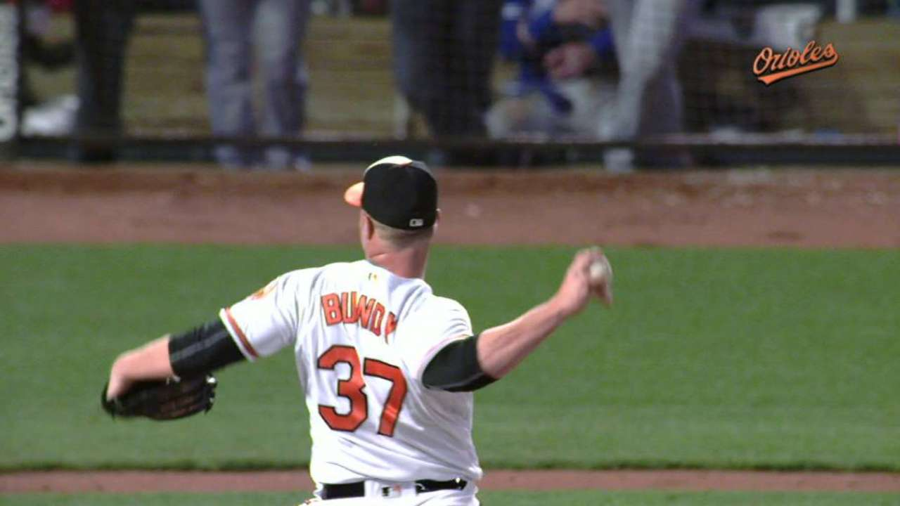 Bundy could be starting option for O's in 2017