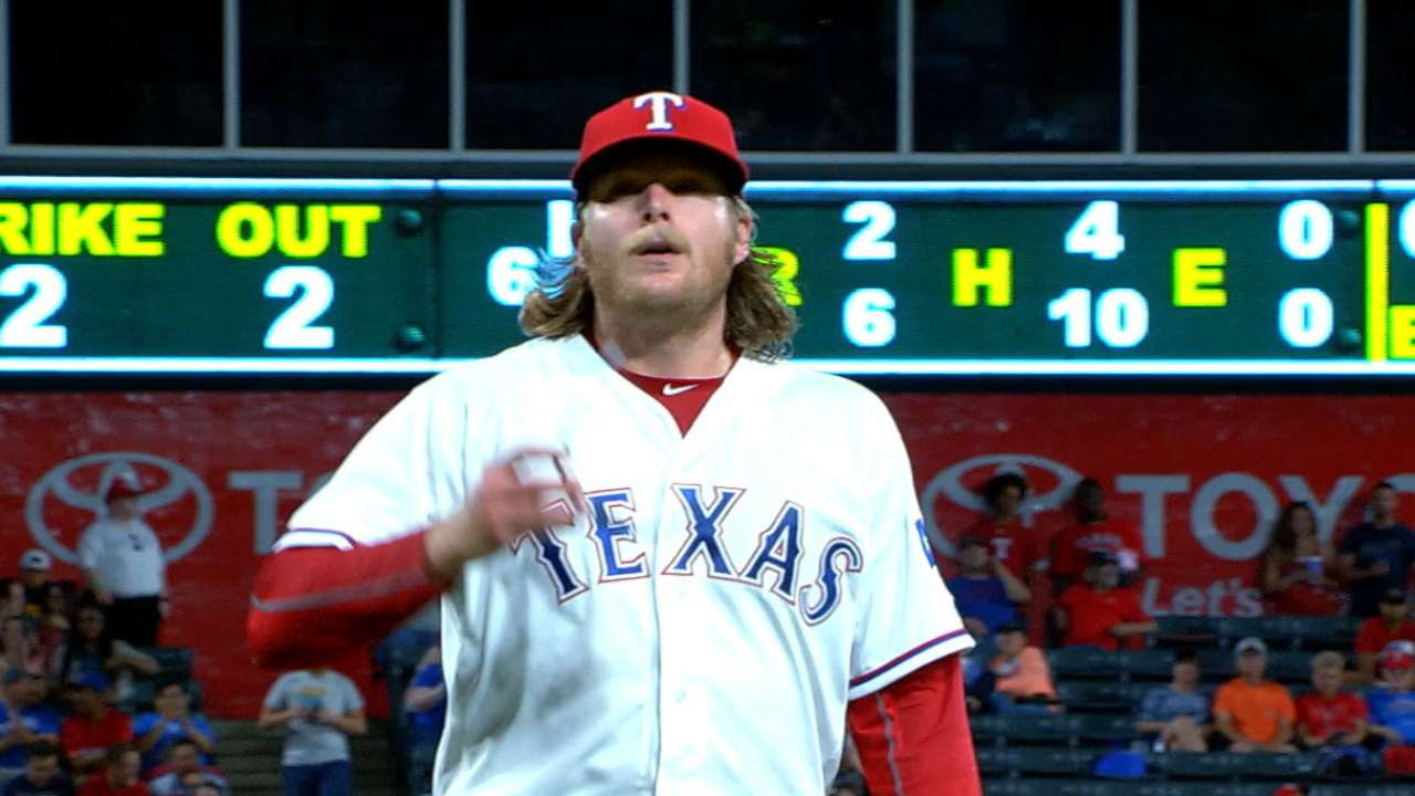 Griffin handles Astros, regains poise