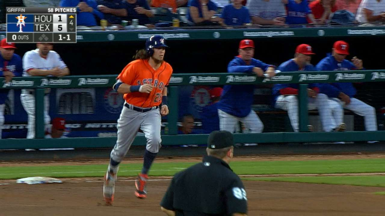 Rasmus' two-home run night