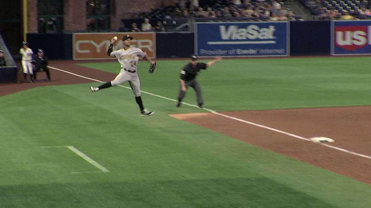 Figueroa's fantastic throw