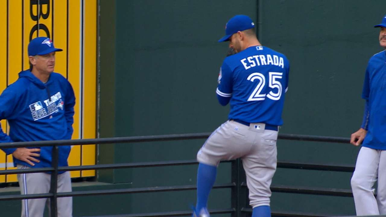 Estrada's nine strikeouts