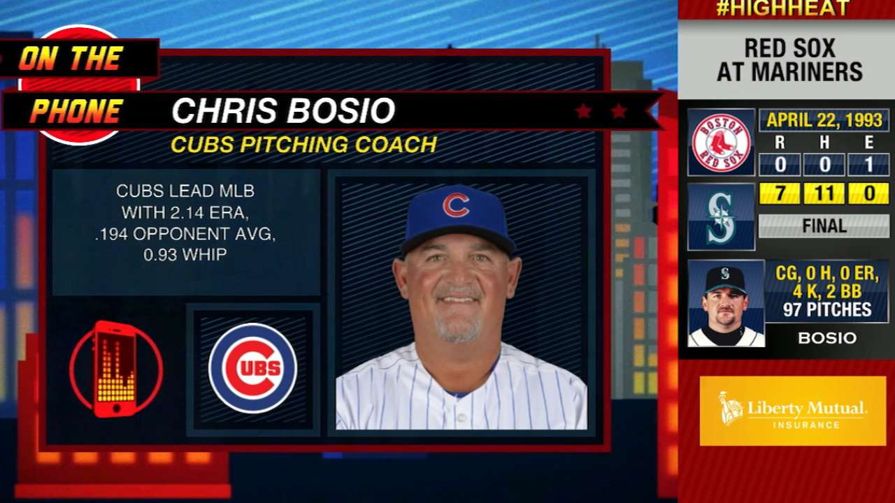 Bosio talks Cubs, Arrieta