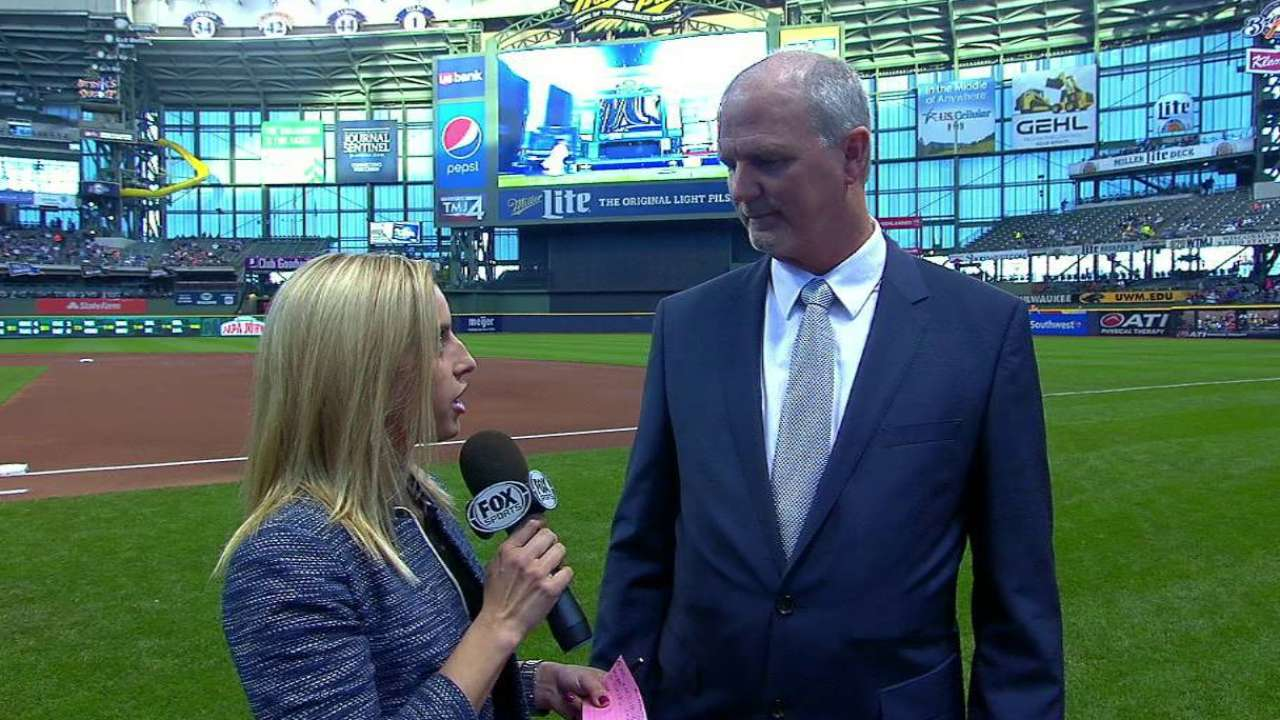 'Augie' times two: August joins Brewers broadcast