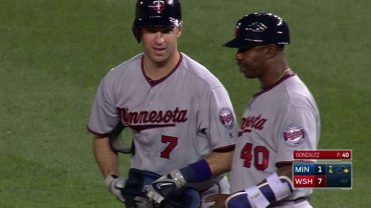 Mauer like 'old self' with resurgence at plate