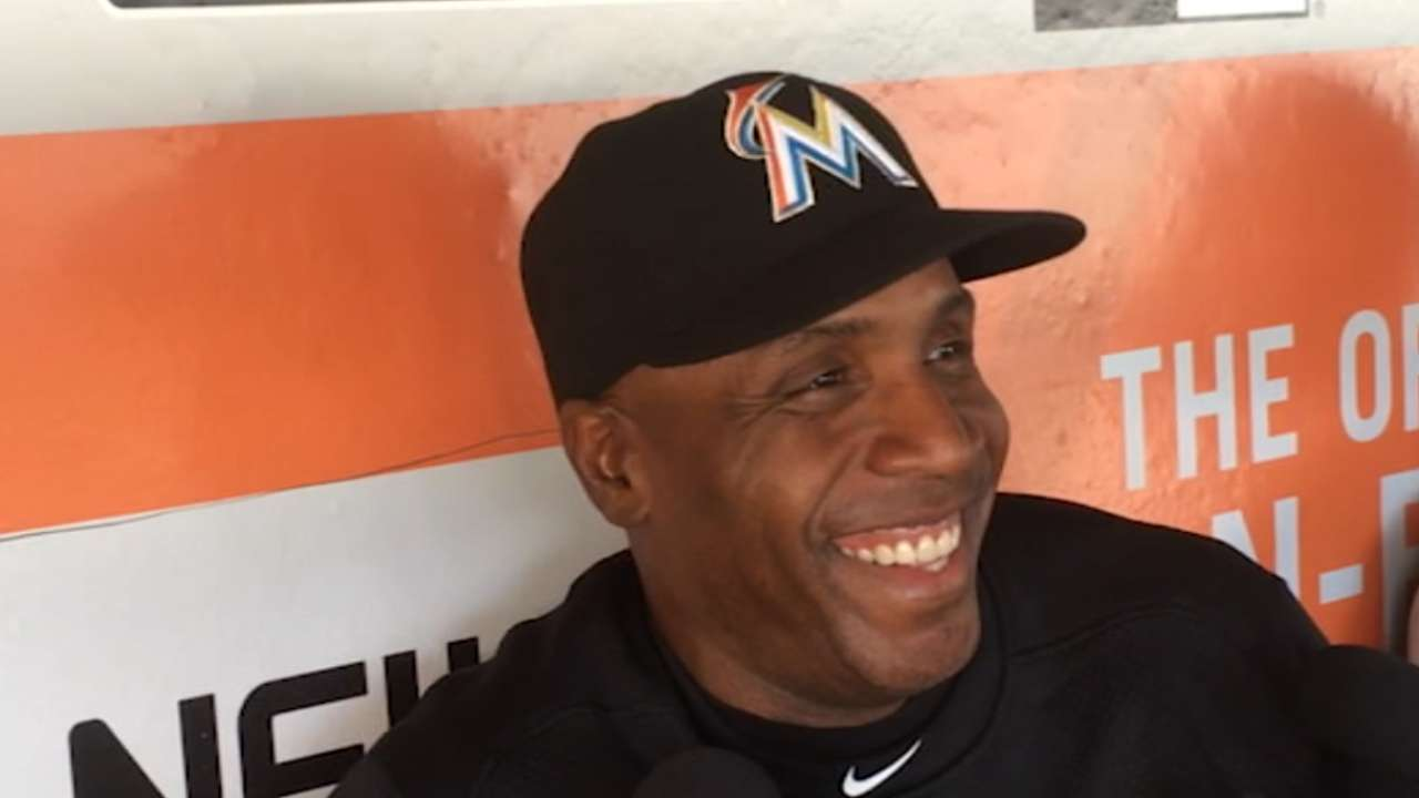 Bonds focused on business in trip 'home' to SF