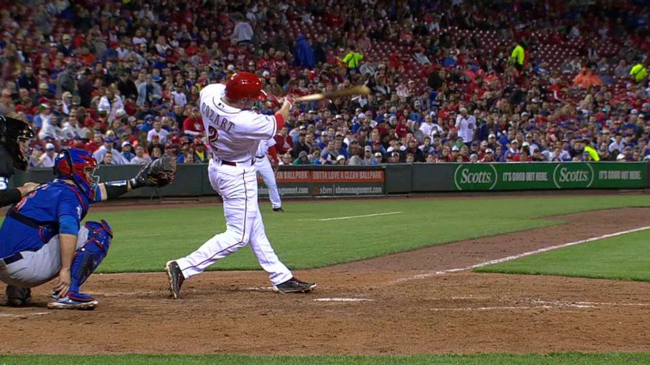 Cozart's approach leading to lots of contact