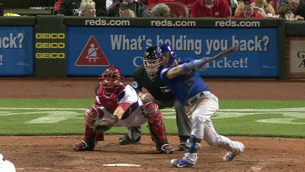 Baez's solo home run