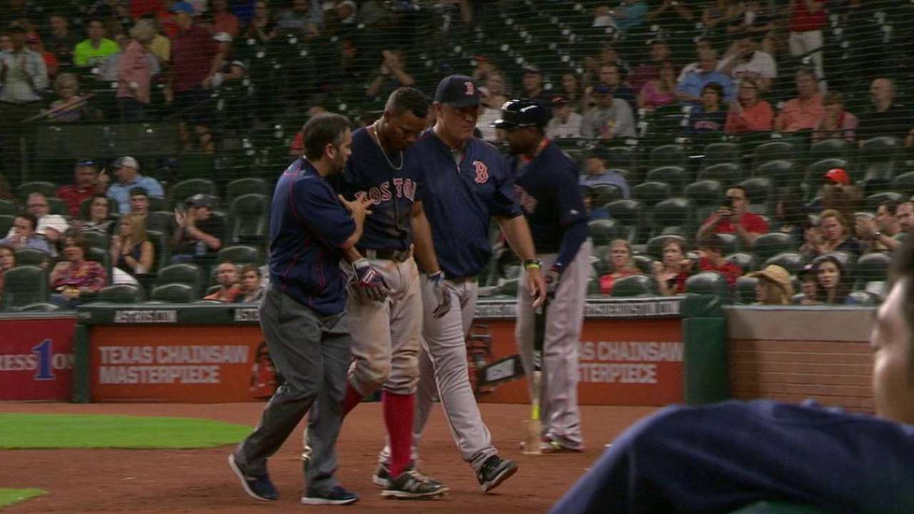 Bogaerts likely to avoid DL after hit-by-pitch