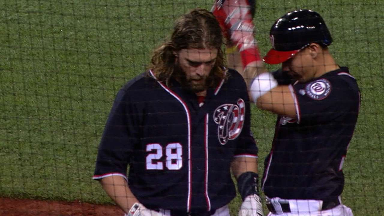 Werth robs Buxton of HR, then goes yard