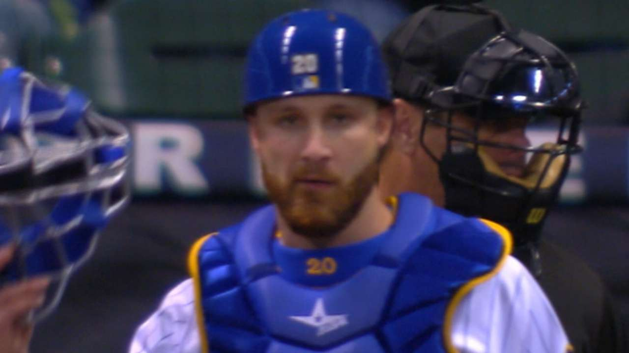 Lucroy nabs two basestealers