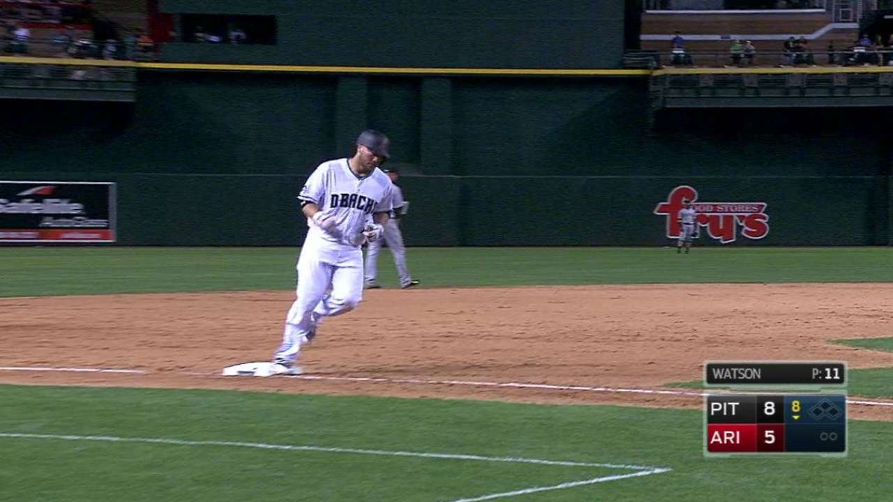 Castillo's second homer